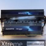 Двоканальний набір модулів пам'яті Xtreme Series DDR3 2200 MHz CL7 з активним охолоджуванням.