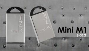 Мініатюрна флешка Pny Mini M1 отримала металевий корпус