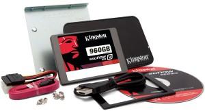 Обсяг твердотільного накопичувача Kingston Digital SSDNow V310 дорівнює 960 ГБ