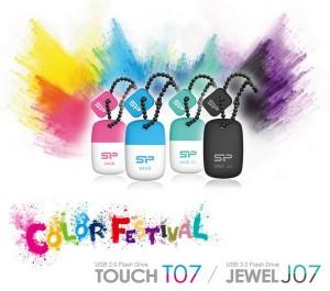 Флешки Silicon Power Jewel J07 і Touch T07 захищені від пилу і води